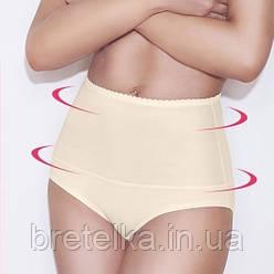 Корректирующие утягивающие трусики с утяжкой живота утягивающее белье утяжка женская бежевые Mitex IGA XL