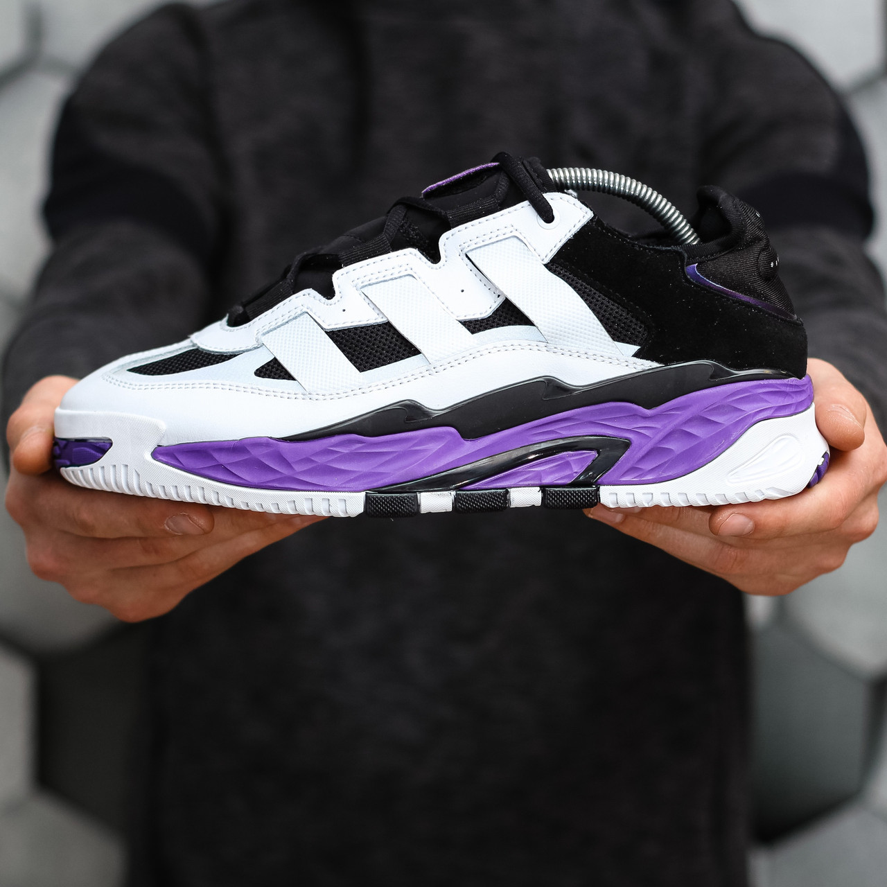 Чоловічі кросівки Adidas Niteball / Адідас Найтбол