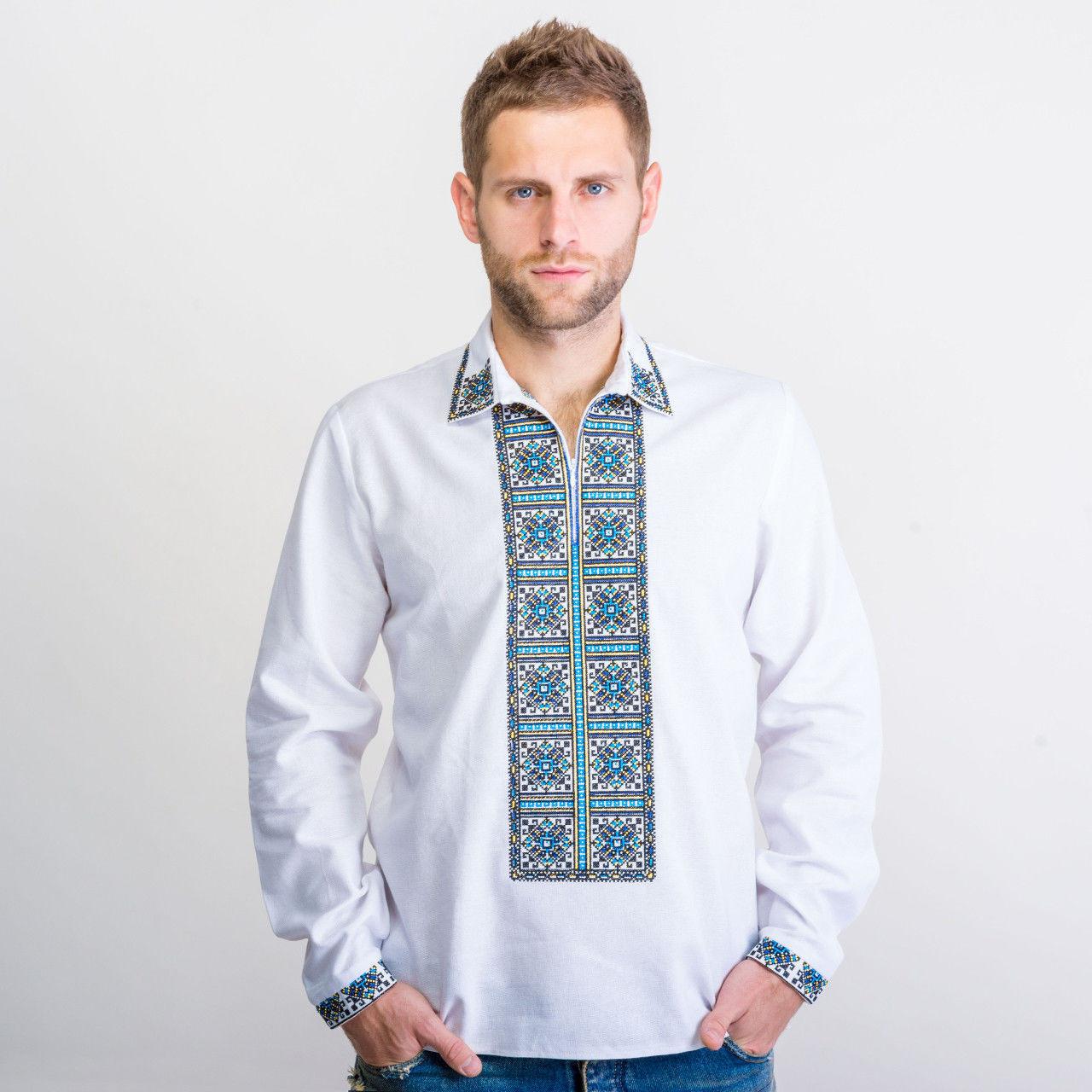 Купить мужскую вышиванку «Код нації» в этно-стиле  295ff81ec6398