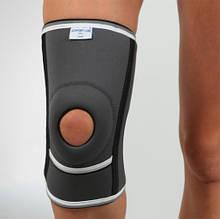 Наколенник неопреновый с открытой коленной чашечкой и спиральными ребрами жесткости - Ersamed REF-102