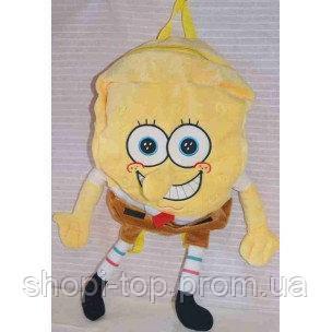 Рюкзак детский мягкий мультяшный спанч боб