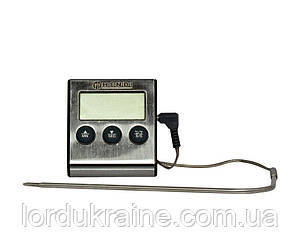 Термометр для выпечки с зондом и таймером -50/250ºC, Hendi