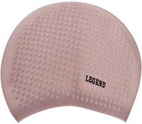 Шапочка для плавания на длинные волосы PL-5921 Legend Серебряный