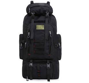 Рюкзак тактичний B124, 100 л, чорний