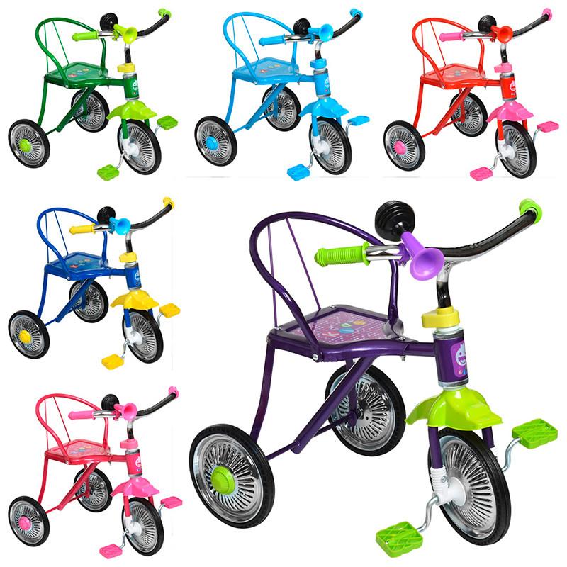 Велосипед 3 колісний LH 701-2, 6 кольорів