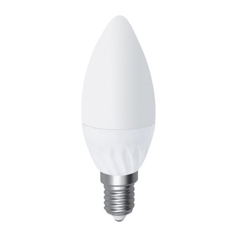 Лампа светодиодная OSRAM B40 6,5W/827 Е14 матовая свеча