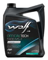 Моторное масло Wolf Officialtech MS-F 5W-30 4л