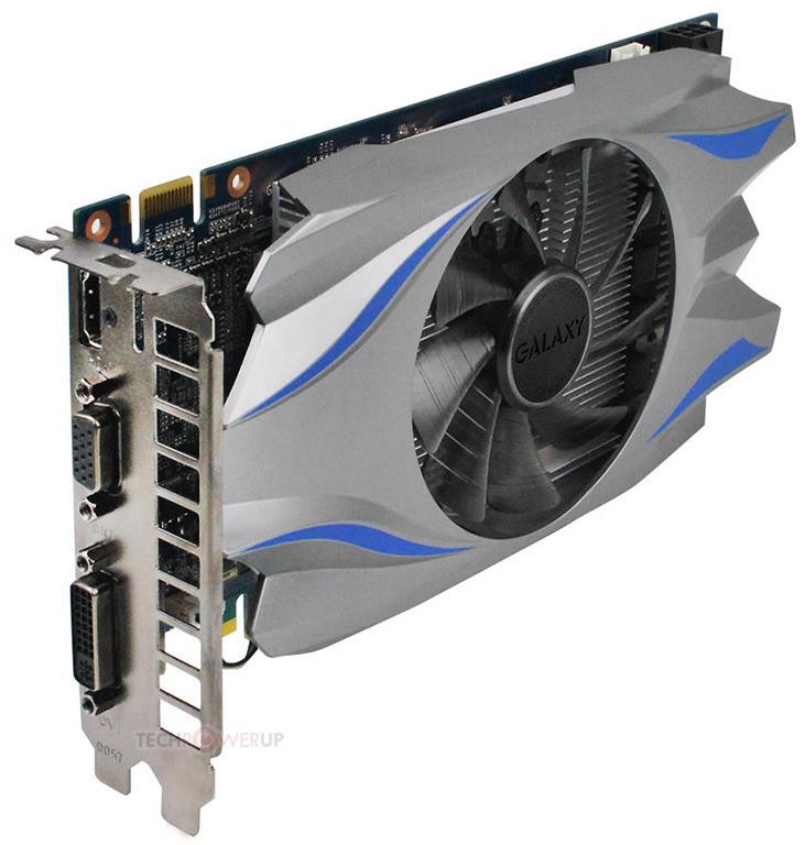 Galaxy  GeForce GT740  1Gb GDDR5 OEM  Новая ! Гарантия 12 мес.