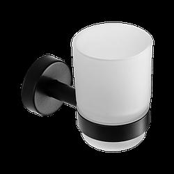 Підвісна склянка для зубних щіток SLZD 12N, Sanela (Чехія), нержавіюча сталь з чорним покриттям