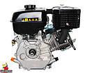 Двигатель бензиновый WEIMA WM177F-T (ВАЛ 25 ММ, ШЛИЦЫ, ДЛЯ WM1100 , 9 Л.С.), фото 5