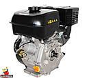 Двигатель бензиновый WEIMA WM177F-T (ВАЛ 25 ММ, ШЛИЦЫ, ДЛЯ WM1100 , 9 Л.С.), фото 6