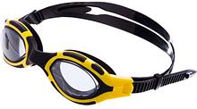 Zelart Очки для плавания  Черно-желтые