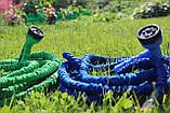Шланг садовий для поливу 52.5 метрів Magic Hose / Шланг поливальний розтягується + розпилювач для поливу, фото 8