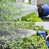 Шланг садовий для поливу 52.5 метрів Magic Hose / Шланг поливальний розтягується + розпилювач для поливу, фото 9