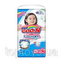 Підгузки трусики Goo.N для дівчаток розмір XL (843099)