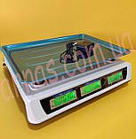 Ваги торгові електронні DT smart 809 до 50кг, поділ 2г, фото 2