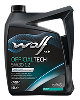 Моторное масло Wolf Officialtech C2 5W-30 5л