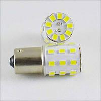 Светодиодная лампа SLS LED с цоколем 1156(P21W)(BA15S)(R5W) 33-2835 SMD 12V Белый