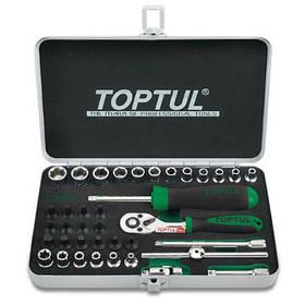 Профессиональный набор инструмента TOPTUL 1/4 38ед. GCAD3801 КОД: GCAD3801
