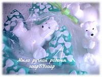"""Набор мыла """"Мишка с елкой"""", фото 1"""