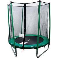 Батут Maxx Pro 183 см с защитной сеткой для детей и взрослых домашний уличный