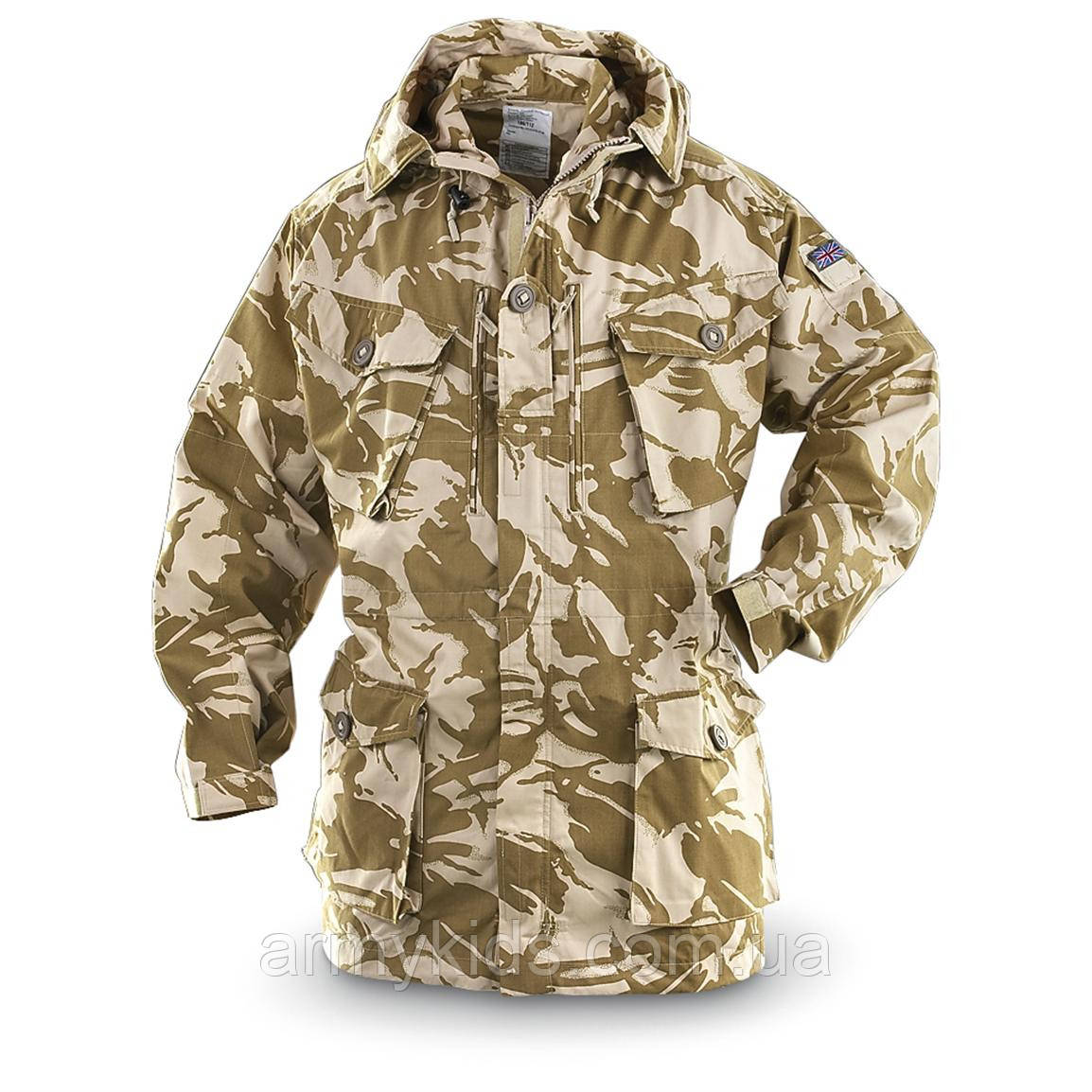 Куртка детская  для мальчиков камуфляж Пустыня Великобритания