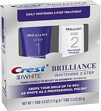 Система отбеливания зубов Crest 3D White Brilliance Daily Cleansing Toothpaste and Whitening Gel System