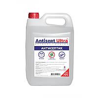 Антисептик для рук і поверхонь Antisept ULTRA (70% спирту) 5 л
