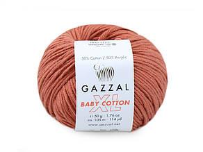Gazzal XL Baby Cotton, Медный №3454