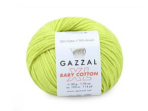 Gazzal XL Baby Cotton, Оливка №3457