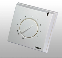 Терморегулятор DEVIreg 130 для теплого пола (механический, 16 А, 250 В)
