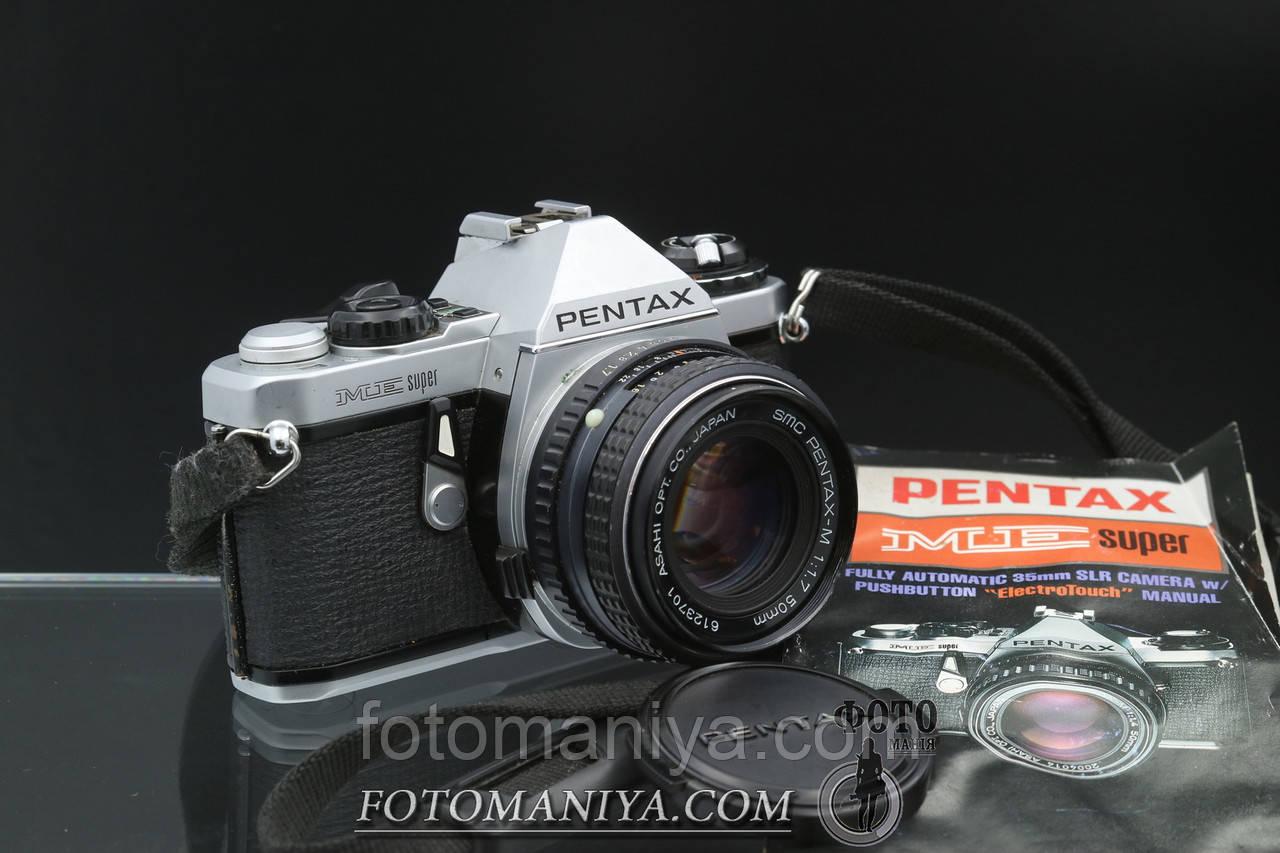 Pentax ME super kit SMC Pentax-M 50mm f1.7