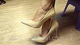 Туфлі жіночі класичні бежеві, фото 8