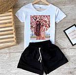 Костюм летний женский спортивный с шортами, фото 3