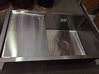 Мийка врізна kraft HS 7848AR (права) з нержавіючої сталі, товщина 3мм.