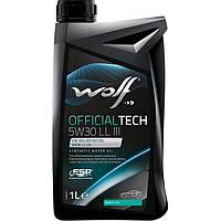Моторное масло Wolf Officialtech LL III 5W-30 1л