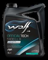 Моторное масло Wolf Officialtech LL III 5W-30 4л