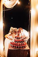 Порционный свадебный торт