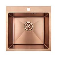 Кухонная мойка Imperial Handmade D5050BR PVD bronze 2.7/1.0 мм IMPD5050BRPVDH10