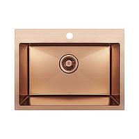 Кухонная мойка Imperial Handmade D5843BR 2.7/1.0 мм (IMPD5843BRPVDH12)