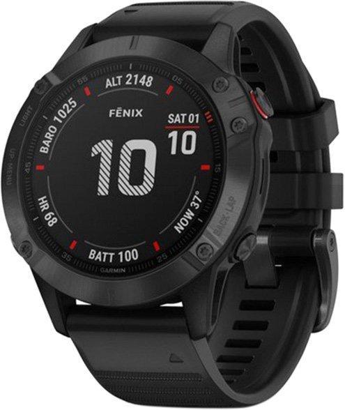Чоловічі годинники GARMIN FENIX 6 PRO BLACK