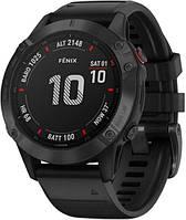 Чоловічі годинники GARMIN FENIX 6 PRO BLACK, фото 1