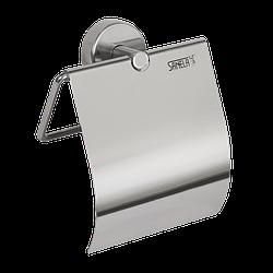 Тримач для туалетного паперу з кришкою SLZD 09, Sanela (Чехія), нержавіюча сталь