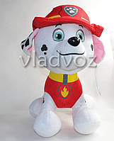 Мягкая игрушка щенок Маршал из мультфильма Щенячий патруль 30см.