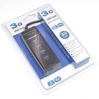 USB 3.0 хаб Разветвитель на 4 порта Юсб Концентратор HUB Удлинитель DK-303