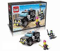 Конструктор Brick Enlighten серия Город 1110 (Полиция)