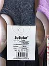 Жіночі однотонні сліди з силіконом бавовна тм Жужубе, фото 2