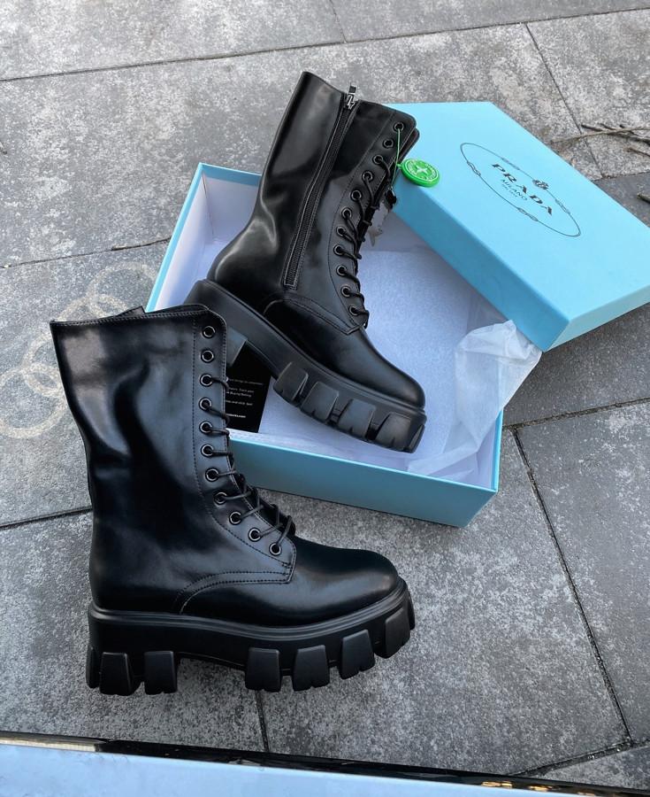 Prada High Boot Black