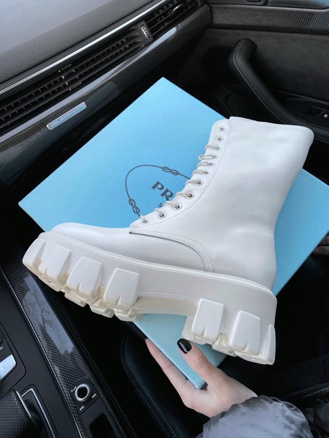 Prada High Boot White