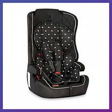 Детское автокресло-бустер от 12 месяцев до 12 лет группа 1/2/3 (9-36 кг) Lorelli EXPLORER черное
